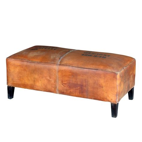 leather settee bench 1000 images about leather sofa chair and ottoman on