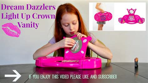 dazzlers light up crown vanity
