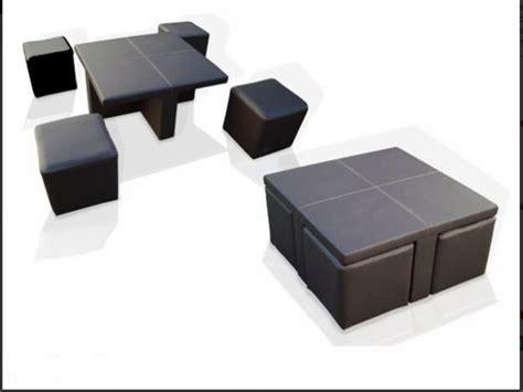mesas de centro con taburetes mesa centro sala lounge 4 taburetes minimalista 1 999