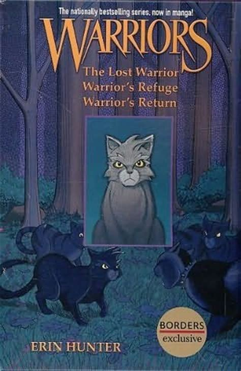 warriors box set graystripe s adventure lost warrior warrior s refuge warrior s return