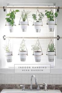 hanging indoor herb garden 13 peaceful diy indoor garden ideas that brings the outdoors in
