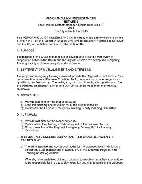 Memorandum Template In Word memorandum of understanding template word beepmunk