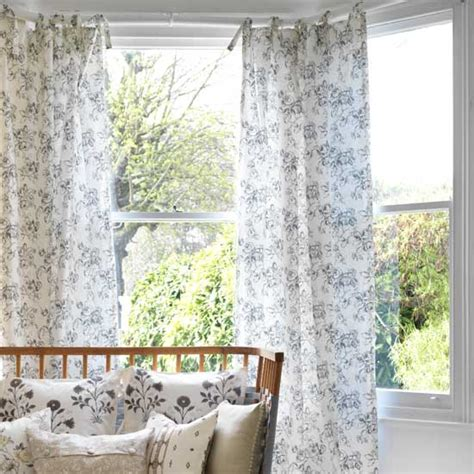 make country curtains how to make tie top curtains craft project ideal home