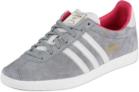 adidas gazelle og w shoes grey pink