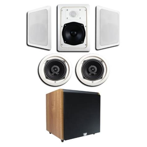 home theater systems 5 1 in wall ceiling speaker system