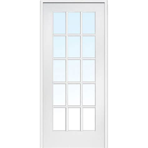 15 Inch Interior Door by Mmi Door 33 5 In X 81 75 In Classic Clear Glass 15 Lite