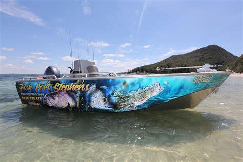 fishing boat hire port stephens charter boat hire fishing charters estuary tour nelson