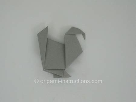 Origami Turkey Diagrams - 綷 崧 綷崧 綷