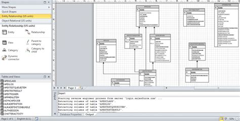 visio database model diagram data modeling in visio free database modeling