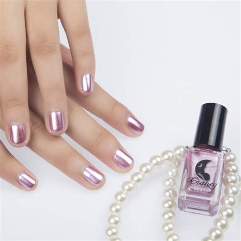 Metallic Nail Polishes by Metallic Nail Magic Mirror Effect Chrome Nail