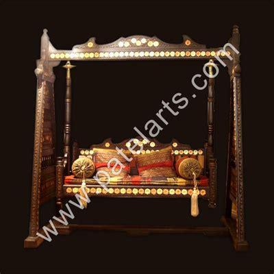 traditional jhoola indian swing handicraft wooden carved swings wooden swings wooden jhoola buy