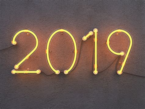 wallpaper  neon sign happy  year hd  celebrations  year