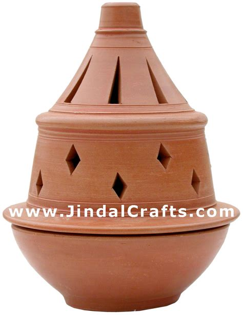 Indian Decorations For Home Handmade Terracotta Candle Aroma Holder Indian Art