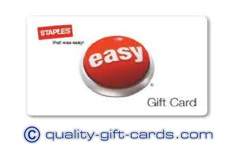 Staple Gift Card Balance - staples discount gift card quality gift cards