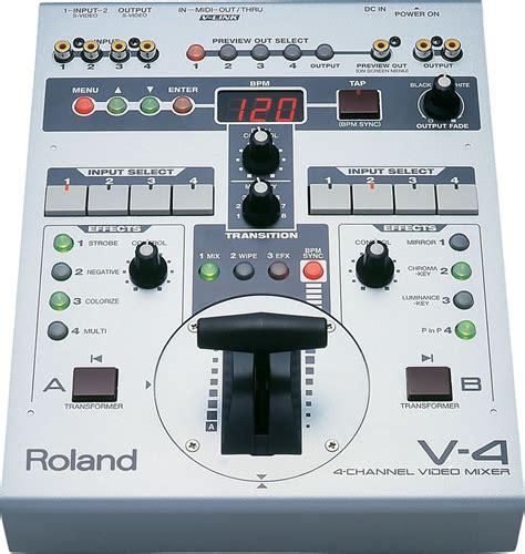 Mixer Edirol edirol v4 roland v4 mixer