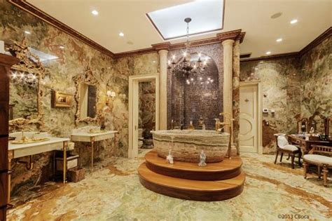 Mansion Bathrooms by Inside The Gift Wrapped 114 Million Nyc Mansion Pursuitist