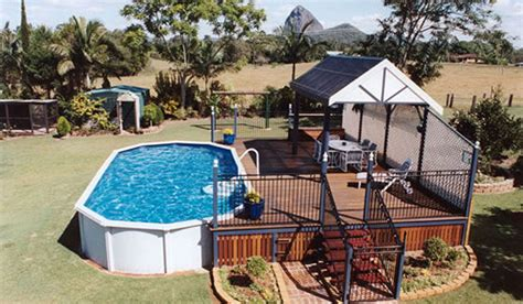 Deck Design Ideas by Above Ground Pools Melbourne Pools R Us