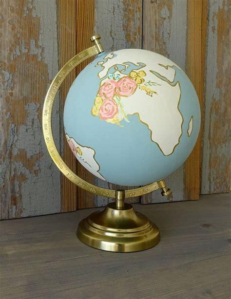 best 25 painted globe ideas on globe globes