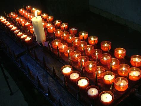 church votive candles