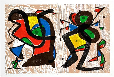 Large Artwork by Discover The Artwork Of Joan Miro At Martin Lawrence Galleries