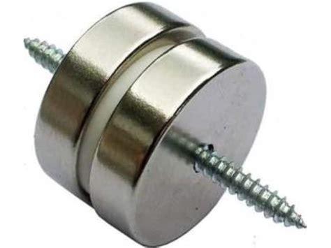 hidden magnetic cabinet door magnet rear earth flush finished magnets for