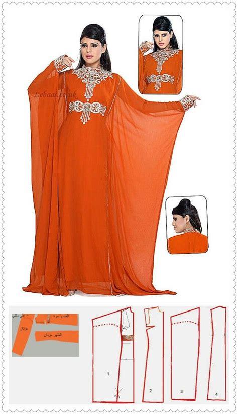 Abaya Dress Kaftan Busana Muslimah Mf 37 104 best pola kaftan images on sewing patterns kaftan and sewing