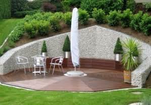 gartengestaltung mit gabionen mur et cl 244 ture gabion id 233 es pour le jardin en 31 photos