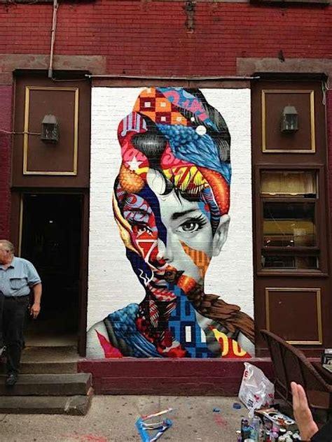 collaged pop culture street art tristan eaton