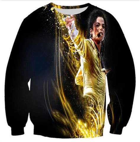 Gwyneth Paltrow Pulls A Michael Jackson by Harajuku Style 3d Hoodies Sweatshirts Print