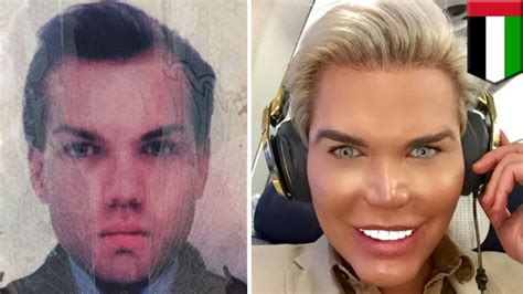 human ken doll before and after plastic surgery human ken doll held in dubai for iffy