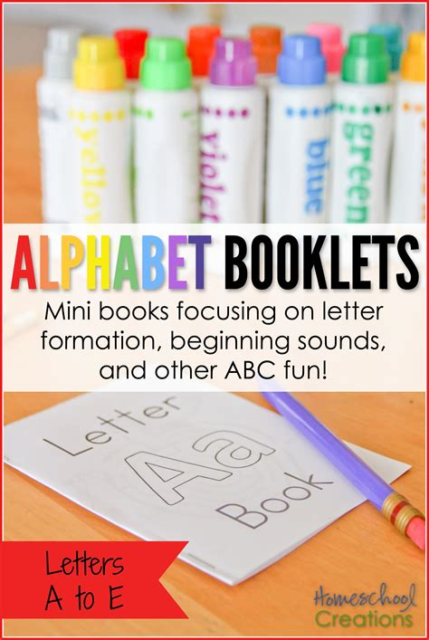 printable alphabet booklets alphabet booklets a to e printable set freebie