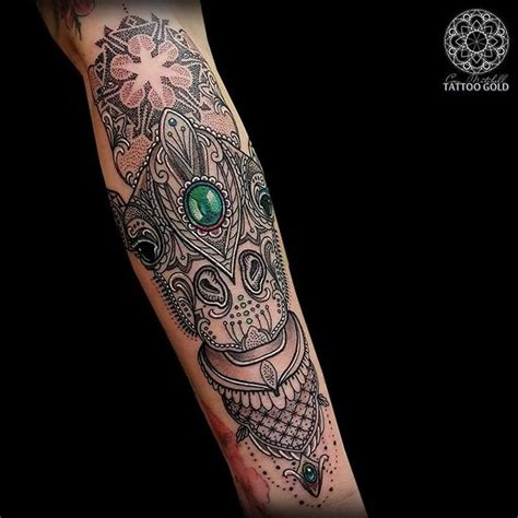20 fabulous mosaic tattoos pictures and ideas golfian com