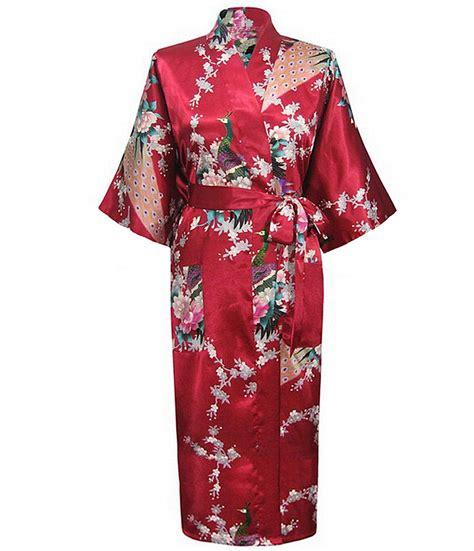 New Arrival Kimono Bathrobe Mandi Tidur new arrival burgundy summer nightgown style robe bath gown kimono yukata gown