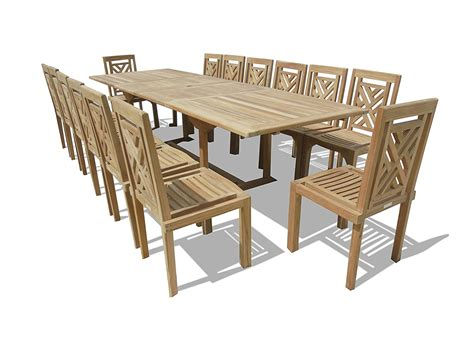 15 teak dining set review teak patio