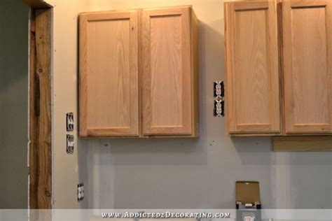 how to install upper kitchen cabinets wall of cabinets installed plus how to install upper