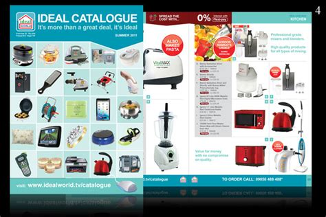product layout html catalogue design the ideal layout