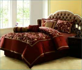 Red Comforter Sets Full Burgundy And Gold Comforter Sets Home Design