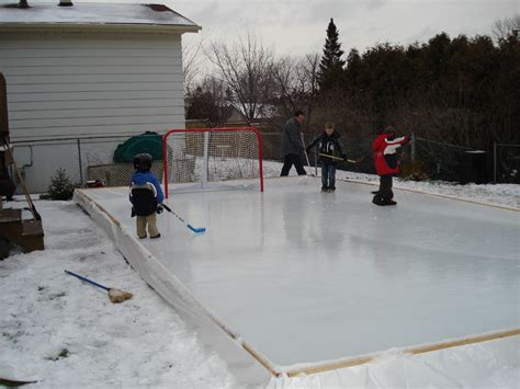 how to make a backyard skating rink why houseleague hockey players benefit from a backyard