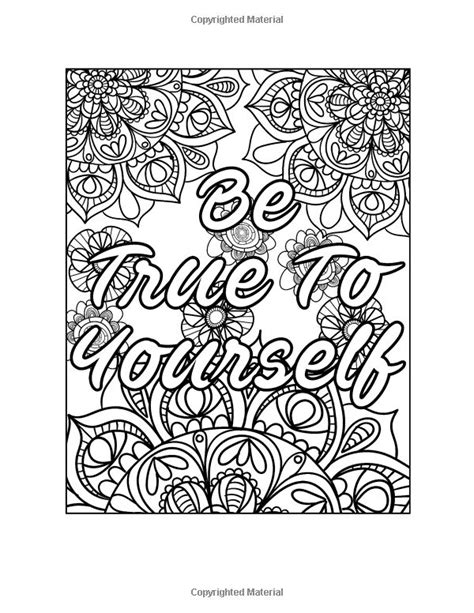 mandala coloring pages with quotes 86 best quote coloring images on coloring