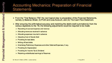 Ross Mba Financial Need Adjustment Form by Unit 1 3 Analysis Of Financial Statements Accounts And