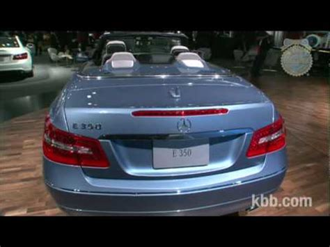kelley blue book classic cars 2010 mercedes benz cl class spare parts catalogs 2011 mercedes benz e class cabriolet auto show video kelley blue book youtube