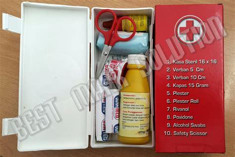 Kotak P3k Mobil Aid jual kotak p3k mobil merah kecil isi best