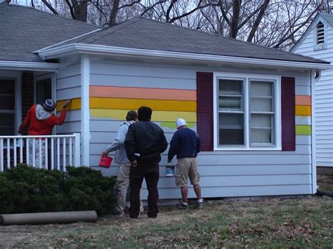 the equality house westboro equality house aaron jackson paints rainbow home across from anti gay church