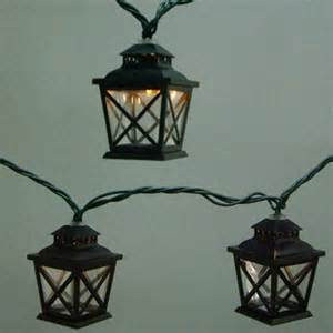 Patio Lights Lowes Allen Roth 10 Light 7 10 Quot Black Patio String Lights Lowe S Canada