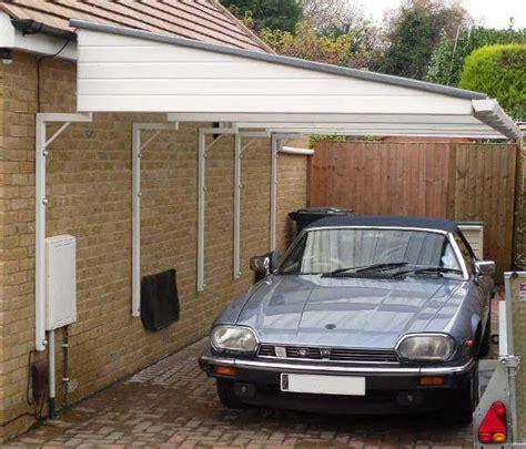Open Carport by Zelf Een Carport Met Plat Dak Aan Je Huis Bouwen