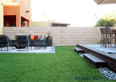 home depot backyard home depot patio style challenge reveal desert domicile