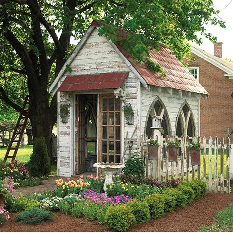 Faux Bois Garden Bench Vintage Greenhouses Amp Potting Sheds Victoria Elizabeth