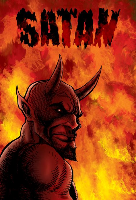 I Am Satan picture of satan in flames in hell personal development