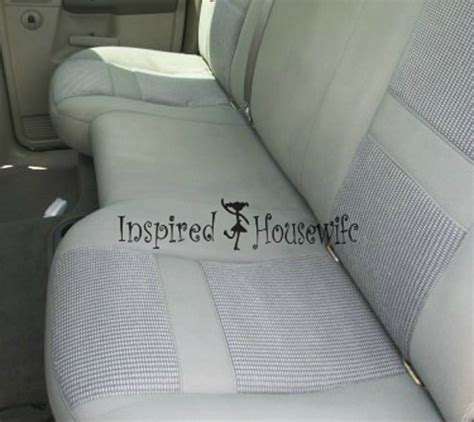 how to clean car upholstery with vinegar shoo car seats diy crafts