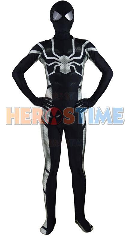spiderman zentai pattern sm8302 black lycra spandex spiderman costume pattern